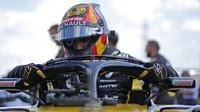 Carlos Sainz před závodem v Maďarsku
