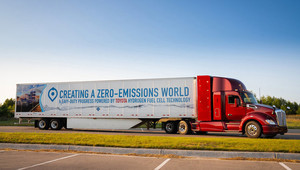 Jak pokračuje vodíková revoluce? Speciální tahače již brzy vyrazí do Los Angeles - anotační obrázek