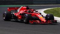 Kimi Räikkönen prožil v Monze úspěšnou sobotu