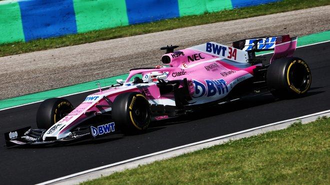 V Maďarsku jela Force India naposledy