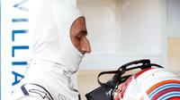 Robert Kubica při sezónních testech v Maďarsku