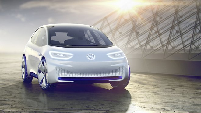 Koncept elektrického hatchbacku Volkswagen I.D.