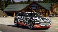 Audi zkoušela rekuperaci elektrického modelu Audi E-Tron Sportback na slavné hoře Pikes Peak
