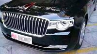 Snímky nové čínské vládní limuzíny Hongqi N501