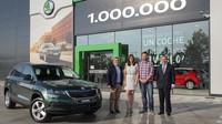 Mladoboleslavská ofenziva přináší úspěchy, Škoda vyrobila již milionté SUV - anotační obrázek