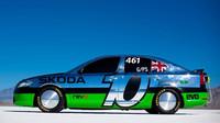 Upravená Škoda Octavia vRS, která v Bonneville překonala rychlostní rekord