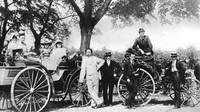 Karl Benz s rodinou