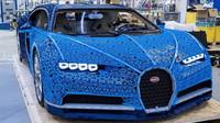 Lego Technic Bugatti Chiron - funkční model v životní velikosti má i Lego motor