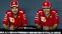 Vettel prozradil, na čem byl postavený jejich vztah s Räikkönenem - anotační foto