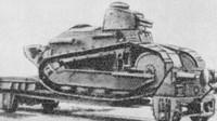 Přeprava tanku Renault FT-17 (Autor: Topory / Wikimedia / Public domain)