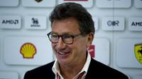 Prezident Ferrari reaguje na Verstappenova slova. Čeká Holanďana budoucnost v rudém? - anotační foto