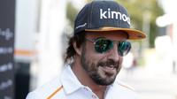Fernando Alonso na Monze