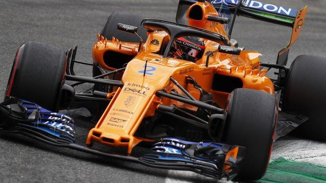 Stoffel Vandoorne u McLarenu moc štěstí na konkurenceschopnou techniku neměl