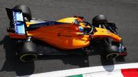Fernando Alonso s McLarenem MCL33 v Monze