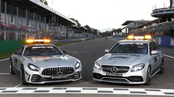 Safety Car většina z fanoušků F1 zná. Tentokrát se jim náležitě představil i jeho kolega