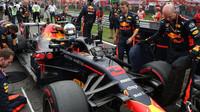Daniel Ricciardo před závodem v Monze