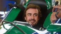 Fernando Alonso v kokpitu vozu americké série Indycar