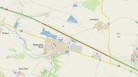 Záložní přistávací dráha u dálnice D1 u obce Stránecká Zhoř