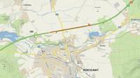Nerealizovaná záložní přistávací dráha u dálnice D5 u Rokycan