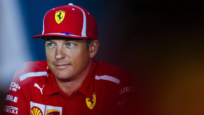 Kimi Räikkönen po pěti letech vystoupal na nejvyšší stupínek