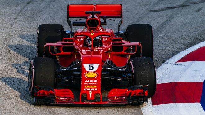 Sebastian Vettel odjížděl ze Singapuru hodně zklamaný, náskok Hamiltona nestáhnul