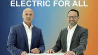 Thomas Ulbrich a Christian Senger jsou hlavními osobnostmi kampaně elektromobility pro všechny