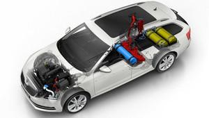 Škoda Octavia G-Tec: Novinka spalující CNG slibuje vyšší výkon i delší dojezd - anotační obrázek