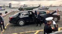 Prezident Trump nastupuje do své nové