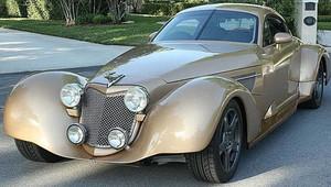 Moderní auto z třicátých let? Corvette Bella Elan kombinuje kadeřnické kupé s americkou klasikou - anotační obrázek