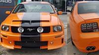 Ford Mustang sedan? Čtyřdveřové Shelby GT500 vzniklo na druhé straně světa - anotační foto