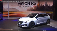 Záběry z živého představení Škoda Vision RS prostřednictvím facebooku