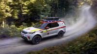 Oddělení Special Vehicle Operations automobilky Land Rover připravilo záchranářský speciál pro Rakouský červený kříž