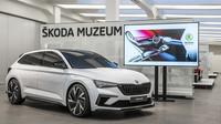 Od úterý 2. října do neděle 14. října je v prostorách mladoboleslavského Škoda Muzea exkluzivně vystaven hliněný model konceptu Vision RS v reálné velikosti