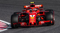 Kimi Räikkönen ve Velké ceně Japonska 2018