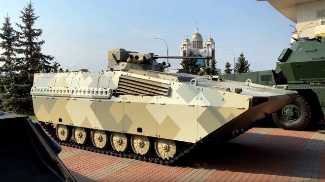 BVP-M2 SKCZ (Youtube/ Defence Blog)