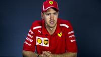 Sebastian Vettel po závodě v Rusku