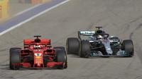 """""""Ferrari se tvrdě vrátí do boje."""" Hamilton předčasný zisk titulu v USA nečeká - anotační foto"""