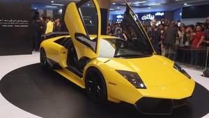 Íránci představili první domácí supersport, přesná kopie Lamborghini dostala netradiční motor - anotační obrázek