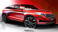Škoda zveřejnila první skici stylového Kodiaqu GT, exkluzivní kupé má namířeno na jediný trh - anotační obrázek