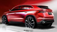 Škoda skicami nového vozu Kodiaq GT poskytuje první pohled na budoucí vrcholný model pro čínský trh.