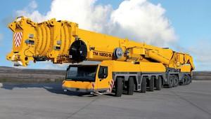 Nevýkonnější autojeřáb světa? Liebherr LTM 11200 uzvedne až 1200 tun nákladu - anotační obrázek
