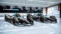 Monoposty Formule E týmu HWA Racelab