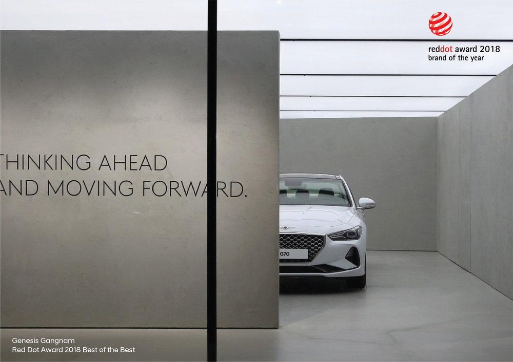 Hyundai získal ocenění nejúspěšnější značka Red Dot Award 2018