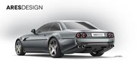 Project Pony je moderním pojetím Ferrari 412, jehož základem se stalo Ferrari GTC4 Lusso