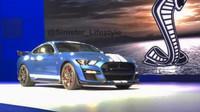 První snímek nové generace Fordu Mustang Shelby GT500