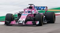 Nejvyšší rychlosti: Pérez přes 340 km/h, Vettel ztrácel 2 km/h, McLaren téměř 14 km/h - anotační foto