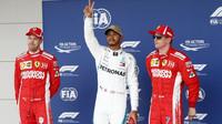 FOTO: Kvalifikace v Austinu - Hamilton těsně před Vettelem - anotační foto