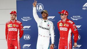 FOTO: Kvalifikace v Austinu - Hamilton těsně před Vettelem - anotační obrázek