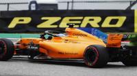 Fernando Alonso v kvalififikaci v Austinu