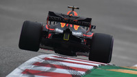 Max Verstappen v kvalifikaci v Austinu